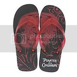 Pirates Caribbean Flip Flop Disny